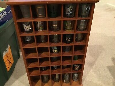 Shot Glass Rack holds 35 Glasses