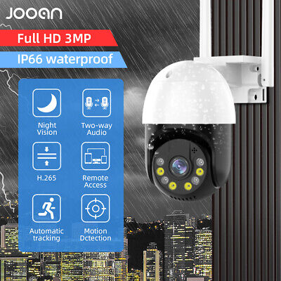 JOOAN HD 1080P Wireless IP Security Camera Home CCTV System Network WiFi Outdoor