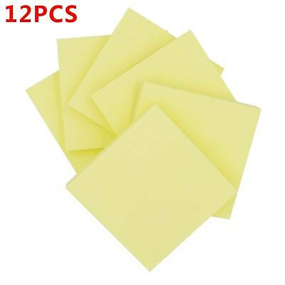 """PASTEL Remove It Sticky Post Notes 76mm x 76mm 3/"""" x 3/"""" 1 to 12 packs of 100"""