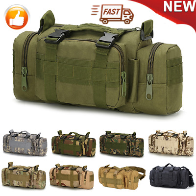 Utility Tactical Waist Pack Pouch Military Camping Hiking Outdoor Bag Belt Bags*