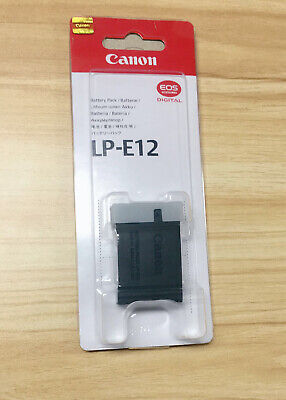 LP-E12 Battery for Canon EOS 100D EOS-M EOS M Rebel SL1 M10 Camera