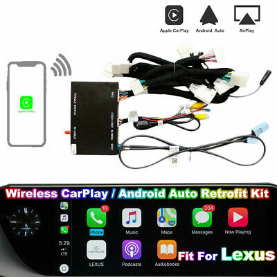 Wireless CarPlay Android Auto Upgrade Retrofit Smart Kit Fit For LEXUS