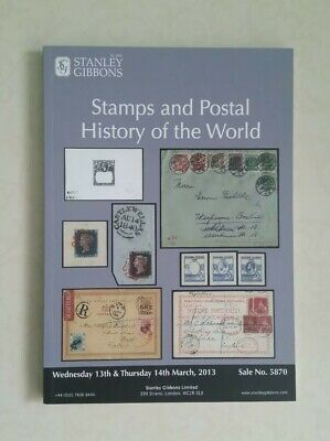 Stanley Gibbons Stamps and postal history of the world 2013 Auction Catalogue F2
