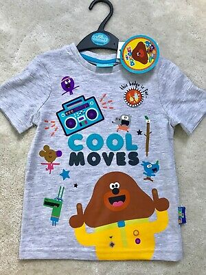 Hey Duggee Boys Short Sleeved T-shirt Age 2-3 Yrs (Up to 98cm)