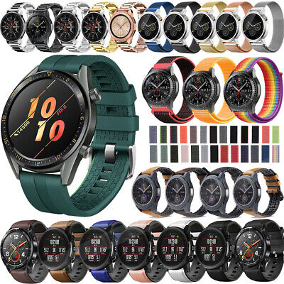 22mm Silicone Nylon Strap Watch Band For Samsung Gear S3 Frontier Accessories