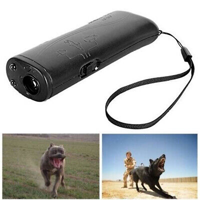 Ultrasonic Anti Bark Control Stop Barking Dog Training Repeller Device Defence