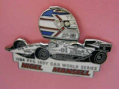 pin's NIGEL MANSELL -  signé MFS , automobile , indy car