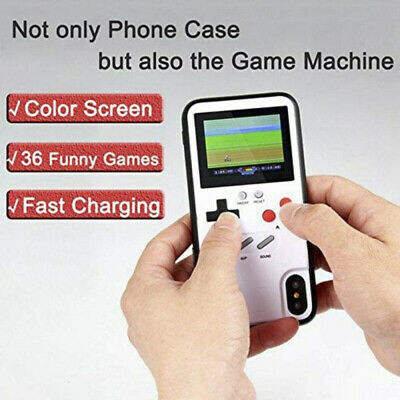 Gameboy Phone Case 36 Retro Video Games Color Display Phone Cover For IPhone 8 X