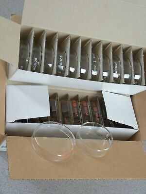 New in Box 12 Kimax Glass Culture-Petri Dishes with Lids 60mm x 15mm Free Ship