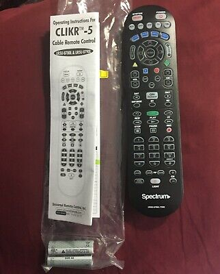 SPECTRUM (TIME WARNER) Cable TV VCR DVD AUX Remote
