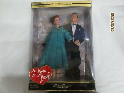 Vintage Mattel I Love Lucy  Ep 50 50th Anniversary Figures Open box new