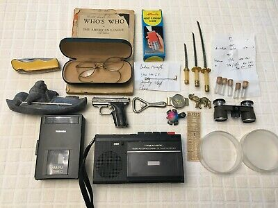 Lot Of Vintage & Collectible Items - Not Junk Drawer - See Description