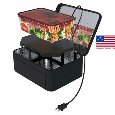 Portable Mini110/12V Insulated Food Warmers cabinet buffet lunch box Set for Car