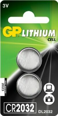 10 x GP CR2032-C2 Lithium Cell Battery 3v CR2032/DL2032 -New Pack of 2, Exp 2028