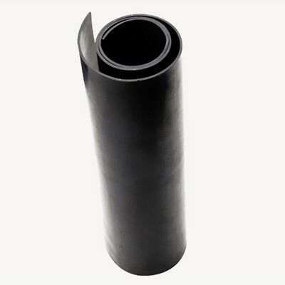 50x50cm Oil Resistant Solid Neoprene Silicone Black Rubber Sheet Gasket 1/2/3mm