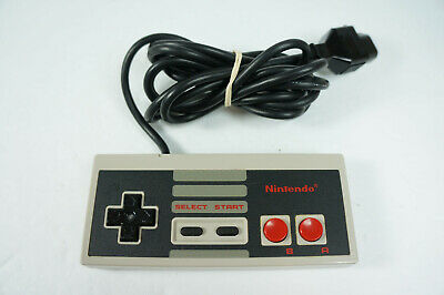 Official OEM Nintendo Entertainment System NES-004 Controller Genuine Tested