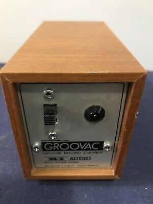 Vintage Groovac Record Cleaner
