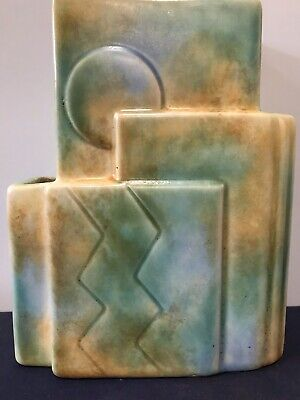 Antique Vintage Art Deco Abstract Vase