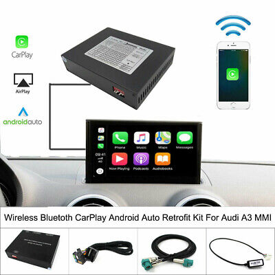 Fit For Audi A3 MMI CarPlay Wireless Retrofit Kit Support Android Auto