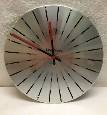 Bang and Olufsen Beotime Vtg Wall Clock Jacob Jensen Danish Design Classic B&O