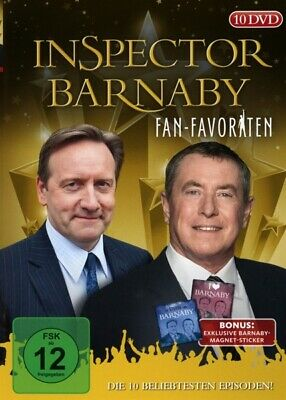 Inspector Barnaby Fan-Favoriten 10x DVD-5 John Nettles Neil Dudgeon Jane Wymark