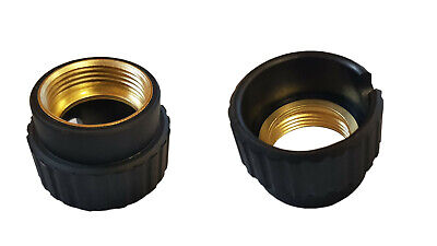 Black and Brass Nut Euro plug MIG MAG welding torch MB15 MB24 MB25 MB36 gas
