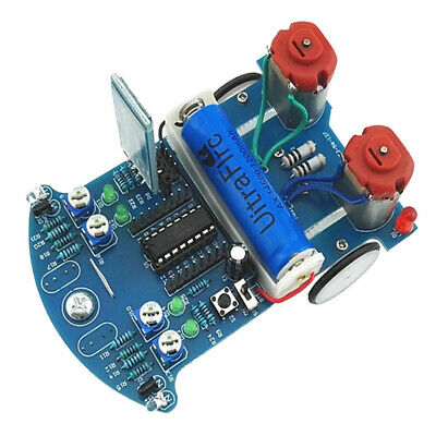 MCU Intelligent Tracking Car DIY Bluetooth Control Robot Car Chassis DIY Kit