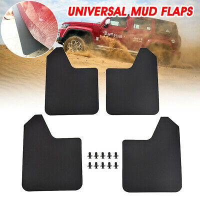 Universal Van Mudflaps Front Rear Subaru Branded Justy MV Pickup Mud Flap Guard