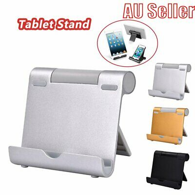 Aluminum Multi-angle Holder Stand For iPad Tablet iPhone XS eReader kindle BO