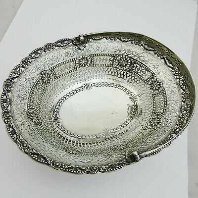 Quality Small Silver Chrichton Brothers Basket London 1912