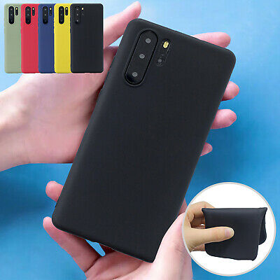 For Huawei Mate 20 Pro P30 Lite P20 Case Protective Soft Gel Rubber Slim Cover