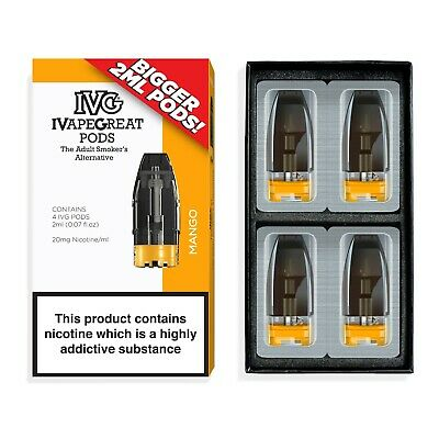 Mango  2ml Pre-Filled PODs by IVG