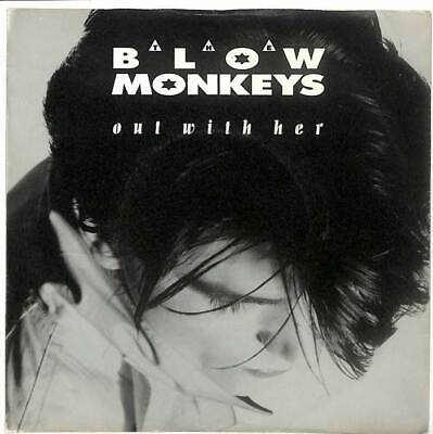 """The Blow Monkeys - Out With Her - 7"""" Vinyl Record Single"""
