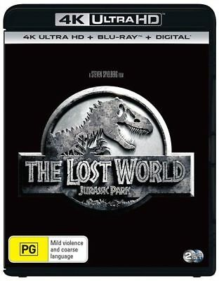 The Jurassic Park - Lost World 4K Blu-Ray UHD : NEW 4K Ultra HD