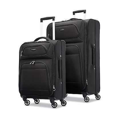 Samsonite Transyt Expandable Softside Luggage Set with Spinner Wheels, 2-Piece