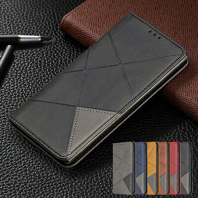 For Samsung Galaxy Note 10 Pro S10 S9 A30 A50 A70 Slim Leather Wallet Case Cover