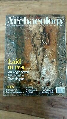 Current Archaeology Magazine October 2018 343 Anglo Saxon England, Silchester