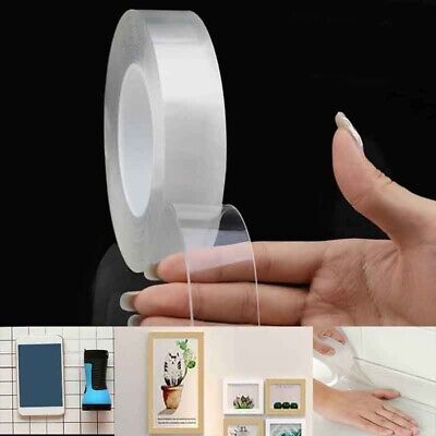 Magic Double-sided Tape Traceless Washable Adhesive  Invisible Tape Household
