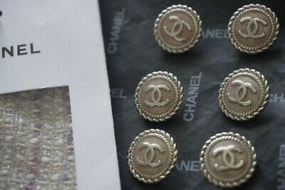 💞💔💝💓💕❣💖💗❤💋💚CHANEL BUTTONS 12  pieces  SIZE 17MM 0,7 INCH LOGO CC METAL