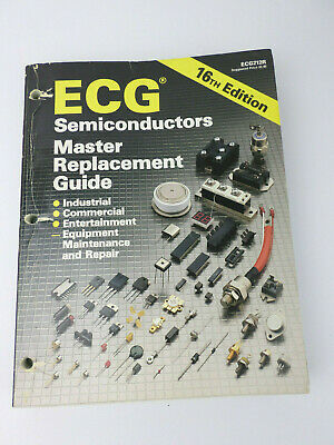 1994 ECG Semiconductor 16th Edition Master Replacement Guide Cross-Reference