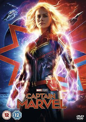 Captain Marvel ~ DVD ~ NEW Sealed ~ 8717418546649