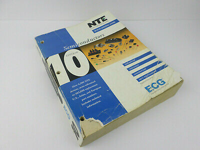 2002 NTE Semiconductor 10th Edition Cross-Reference Guide ECG / NTE Parts