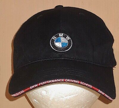 a010af697 BMW HAT PERFORMANCE Driving School Cap Hat SC Logo Car Racing Strapback  Black