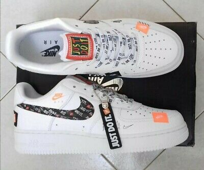 NIKE AIR FORCE 1 just do it T41 EUR 85,00 | PicClick FR