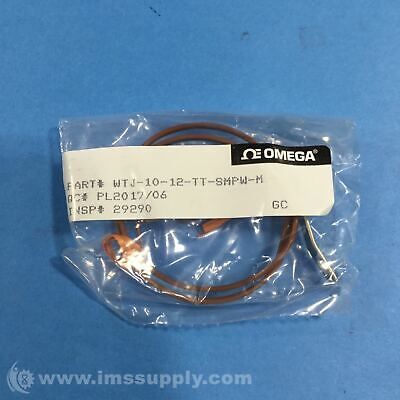 Omega Wtj-10-12-Tt-Smpw-M Bolt-On Washer Thermocouple Assembly Fnfp