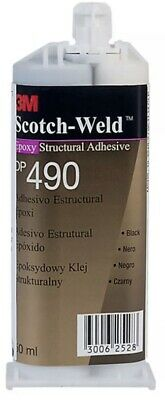 3M DP490 Scotch Weld EPX adhessive 50ml FREE DELIVERY.