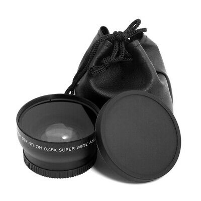 52mm Wide Angle Lens Home Macro Fish Eye Picture for Nikon D70 D3200 D3100 D5200