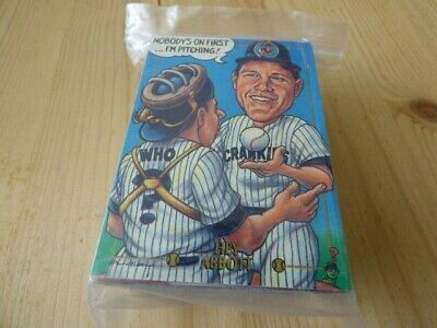 Cardtoons Baseball Parodies  Trading Cards Set of 95 Cards
