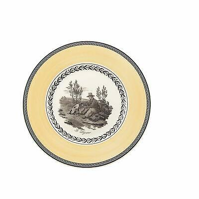 Villery Boch Audun Chasse Salad Plate 8 1/2 in