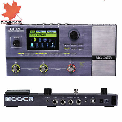 Mooer GE200 Guitar Multi Effects Processor Pedal Board Full Stock Ready to Ship!
